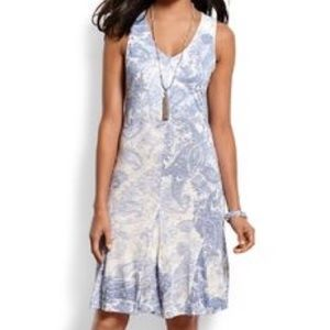 Tommy Bahama Shadow Paisley Short Dress, Medium